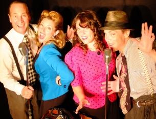 Twilight radio theatre - Chris, Kathy, Tina and David